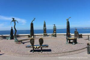 Seaside Sculptures Along the Malecón in Puerto Vallarta, Mexico: The Roundabout of the Sea or La Rotonda del Mar