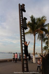 Seaside Sculptures Along the Malecón in Puerto Vallarta, Mexico: Searching for Reason