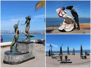 Strolling the Puerto Vallarta Malecón: sculptures