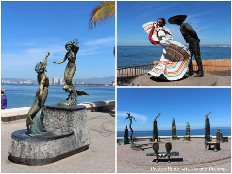 Strolling the Puerto Vallarta Malecón: sculptures