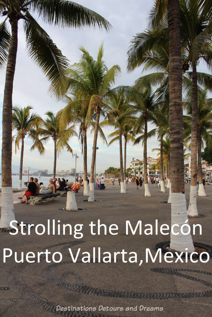 Strolling the Puerto Vallarta Malecón