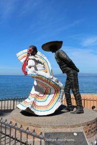 Seaside Sculptures Along the Malecón in Puerto Vallarta, Mexico: Vallarta Dancers
