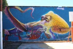 Restore Coral Mural in Puerto Vallarta