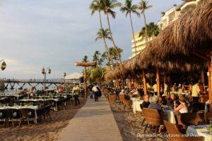 Feasting in Puerto Vallarta: restaurants along the beach