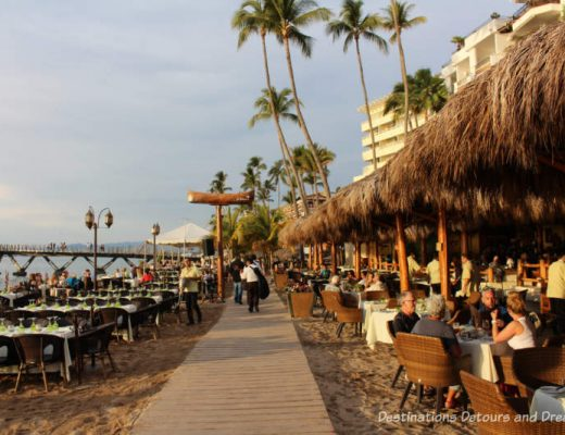 Feasting in Puerto Vallarta: restaurants along the beach