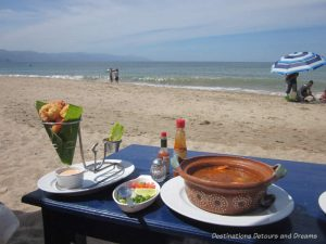 Feasting in Puerto Vallarta: Lunch on the beach at The Blue Shrimp