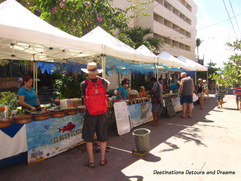 Feasting in Puerto Vallarta: Ceviche and aguachile stalls