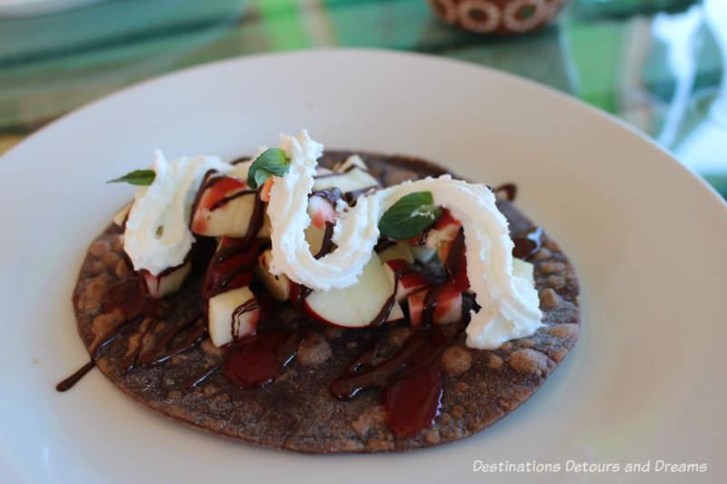 Feasting in Puerto Vallarta: Chocolate taco at ChocoMuseo