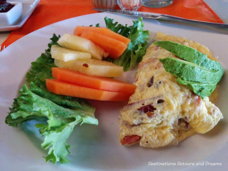Feasting in Puerto Vallarta: breakfast omelet at Coco's Kitchen