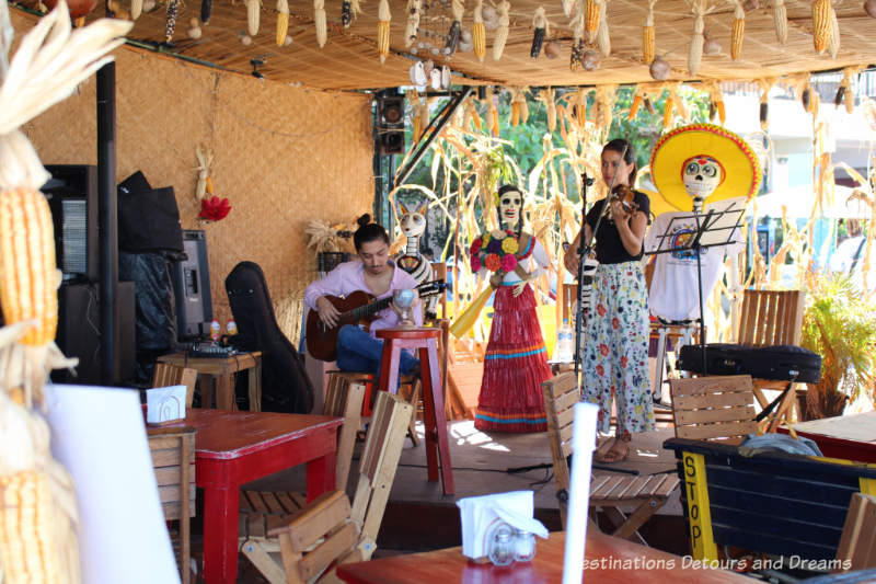 Live music at Cuates y Cuetes in Puerto Vallarta
