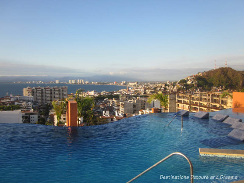 View from the Residences Sky Bar in Puerto Vallarta, Mexico