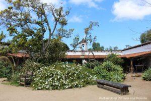 La Casa de Estudillo historic adobe house in Old Town San Diego