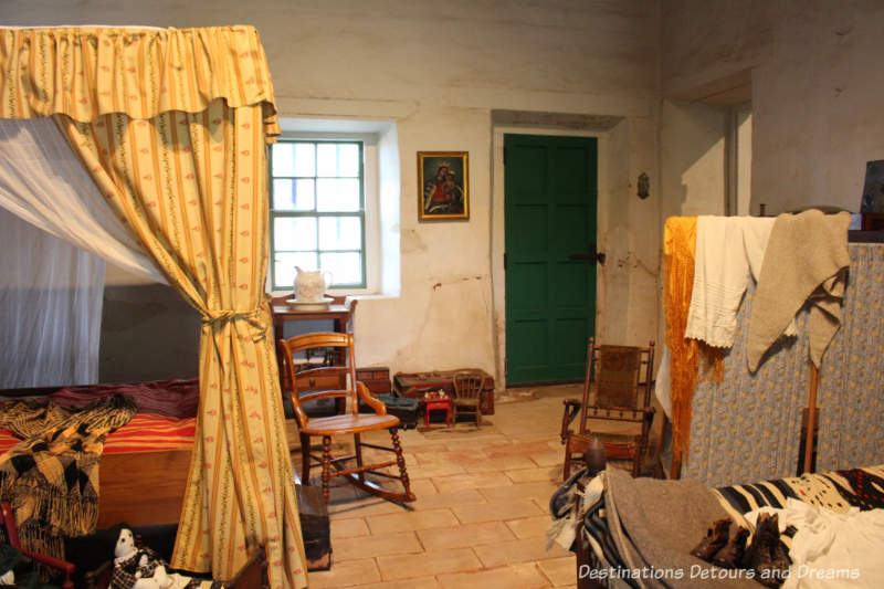 Children's bedroom, circa early 1800s, in Old Town San Diego State Historic Park La Casa de Estudillo