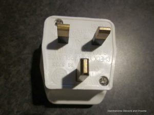 Type G plug used in Untied Kingdom - things to know when travelling to England
