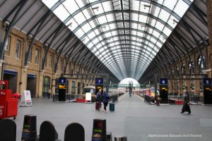 King's Cross Train Station in London - things to know when visiting England