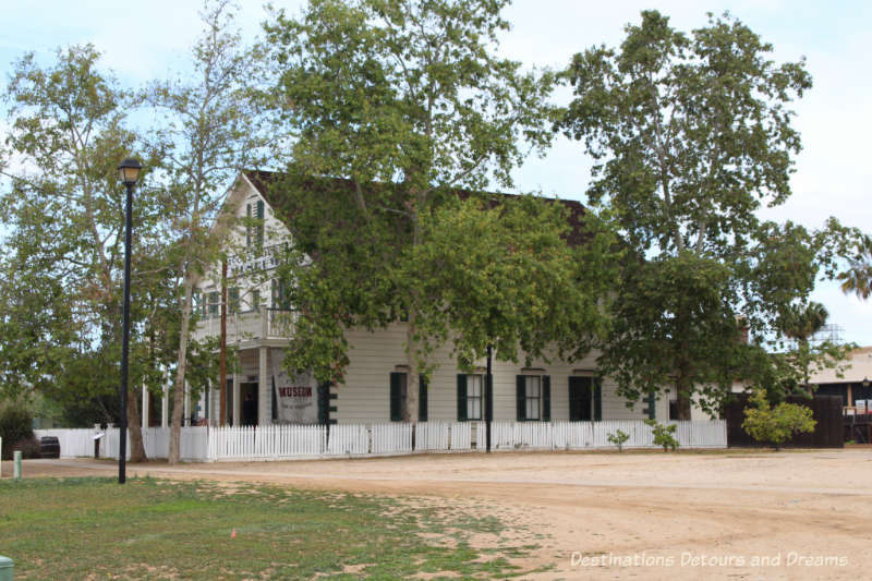 McCoy House, the interpretative centre for Old Town San Diego State Historic Park