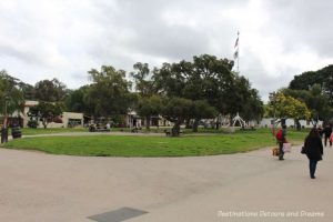 Plaza in Old Town San Diego State Historic Park