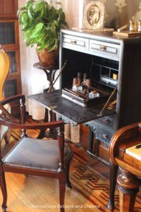 Desk at Rosson House