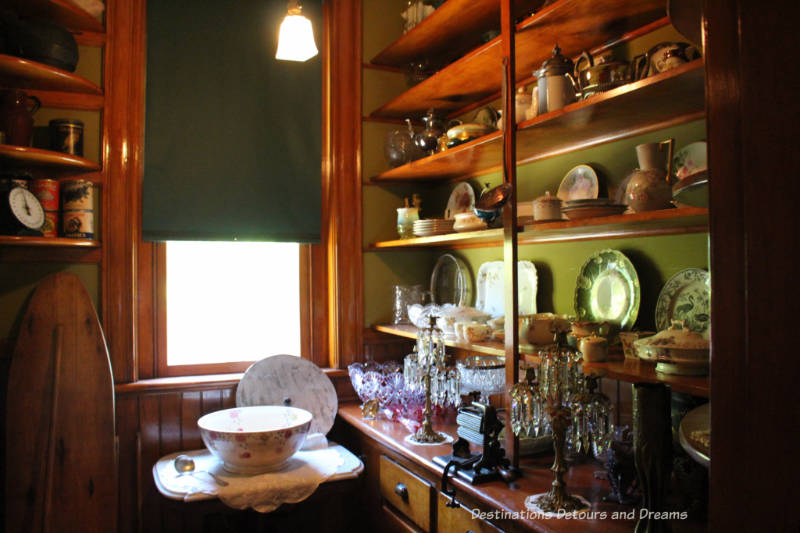 Rosson House pantry