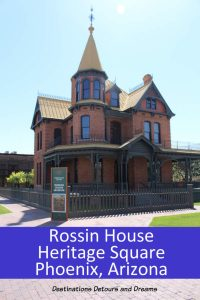Rosson House Museum in Heritage Square takes you back to the late nineteenth and early twentieth centuries in Phoenix, Arizona #Arizona #phoenix #museum #history