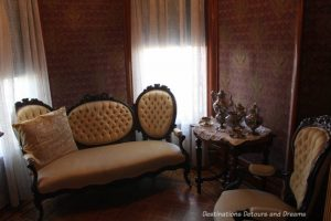 Sitting are in Rosson House Museum in Phoenix Arizona