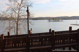 Lake Taneycomo in Branson Missouri