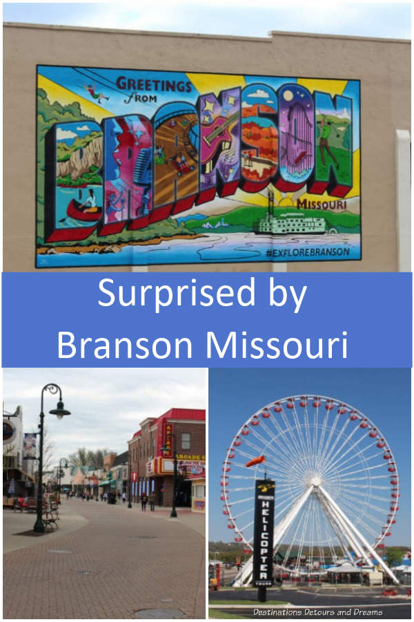 "Surprised by Branson, Missouri - so much to see and do in this friendly ""small town"" city in the scenic Ozarks #Branson #Missouri #Ozarks"