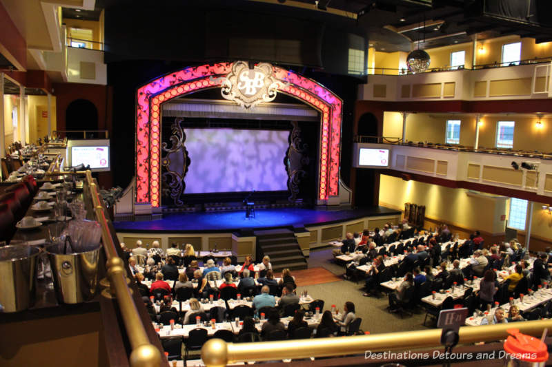 Theatre aboard the Showboat Branson Belle