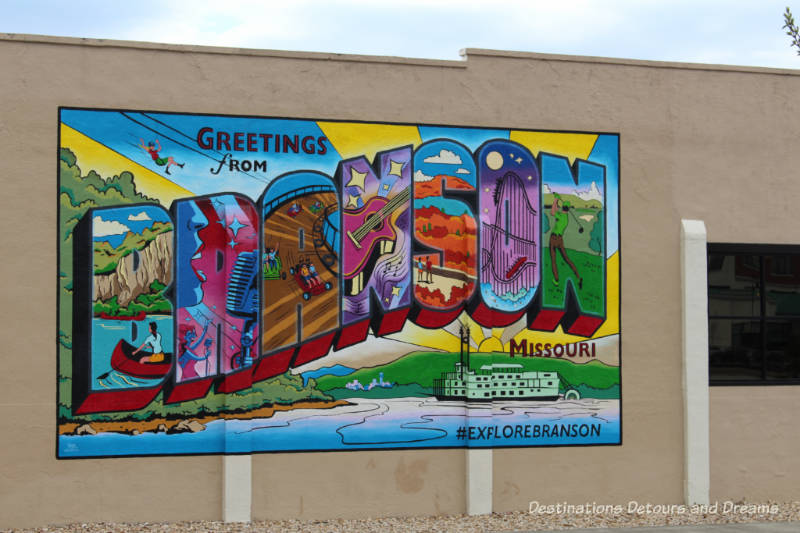 Welcome to Branson Missouri -a town of surprises