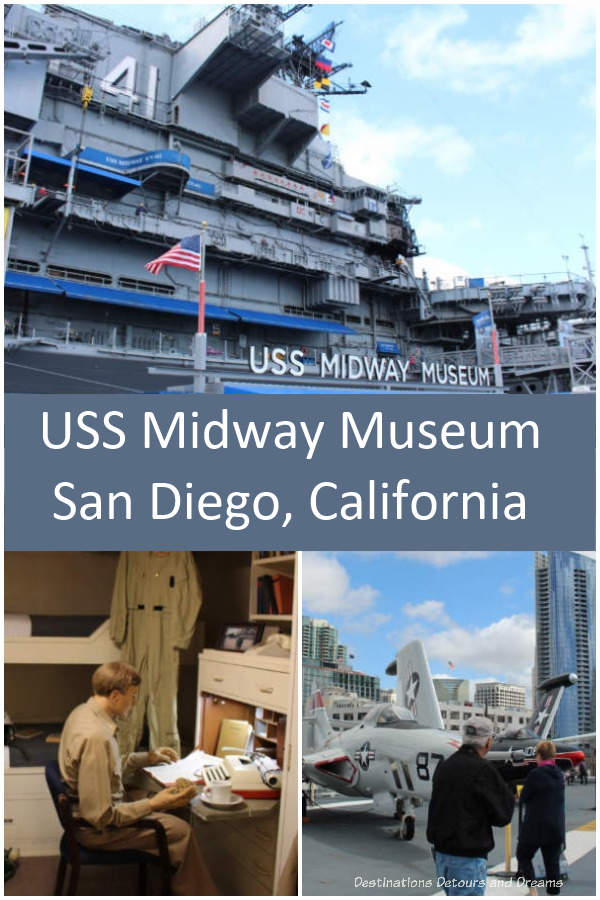 A historic U.S. aircraft carrier is now a museum showcasing life on board and the history of aircraft carriers. #SanDiego #California #museum #history #navalhistory