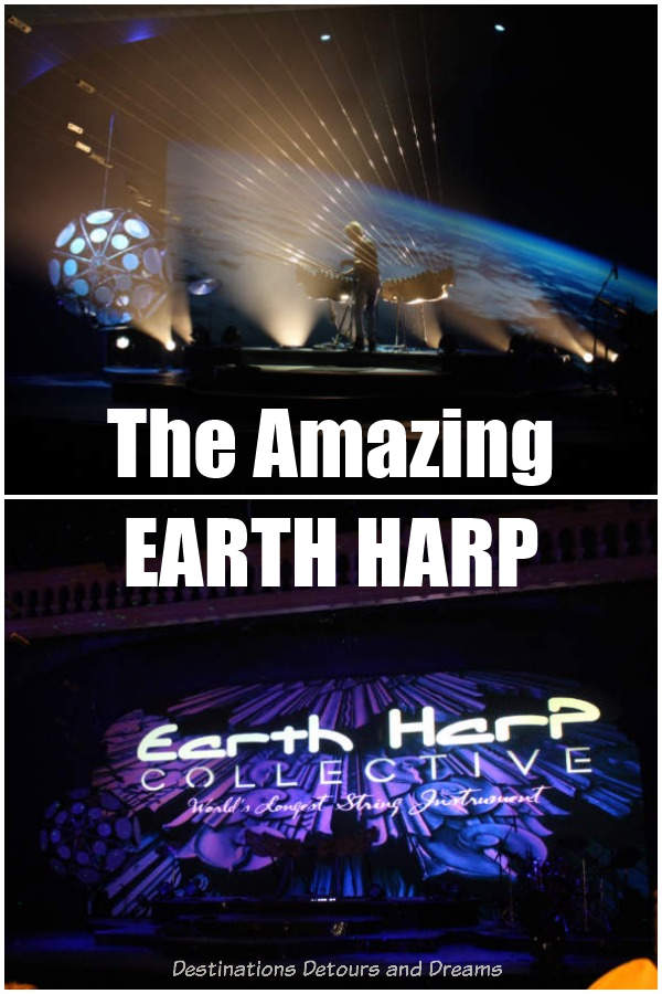The Amazing Earth Harp - the world's longest stringed instrument #travel #musicl #musicalinstrument #harp