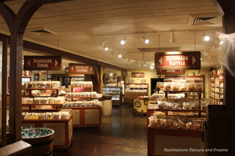Silver Dollar City Candy Store