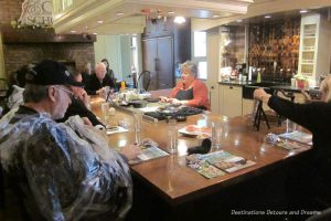 Cooking class at Midwest Living Culinary & Craft School