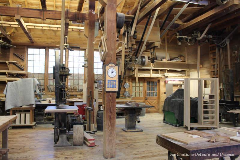Furniture making workshop at Silver Dollar City
