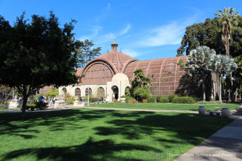 Botanical Building at Balboa Park
