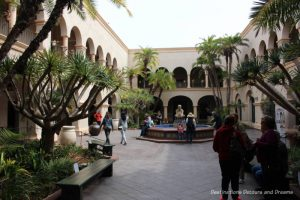 House of Hospitality courtyard at Balboa Park