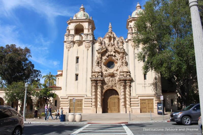 Casa del Prado ,Balboa Park, San Diego, California