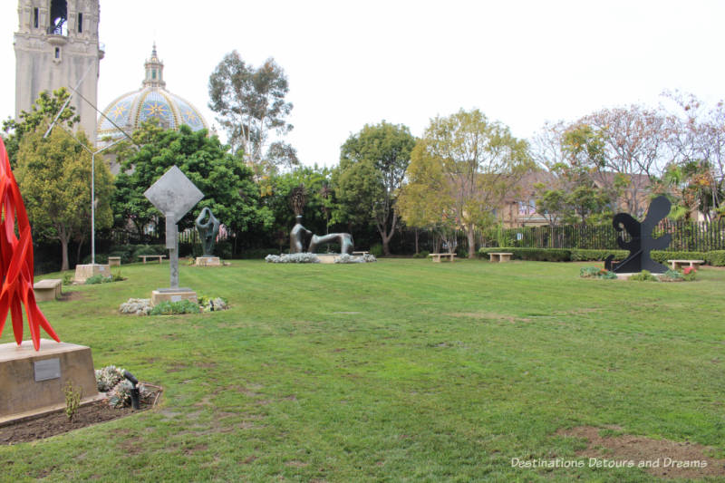 May S. Marcy Sculpture Garden in Balboa Park