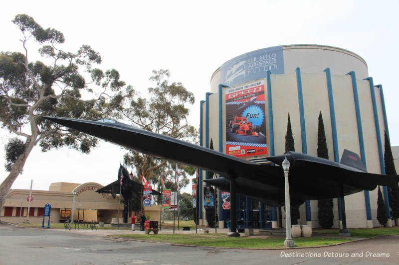 San Diego Air & Space Museum in Balboa Park