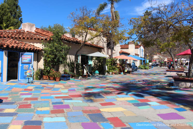 Spanish Village in Balboa Park
