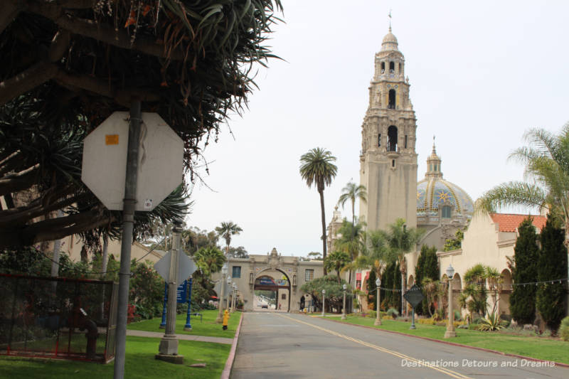 Balboa Park California Tower and dome