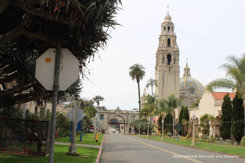 Balboa Park California Tower and dome