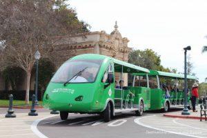 Balboa Park tram