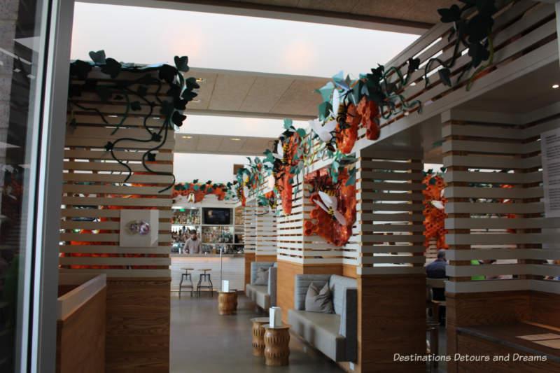 The Hive restaurant at 21c Museum Hotel in Bentonville, Arkansas