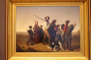 Union Refugees painting by George W. Pettitt