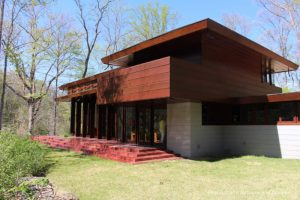 Bachman-Wilson House, A Frank Lloyd Wright home on the grounds of Crystal Bridges Museum of Modern Art