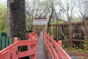 Swinging Bridge at Silver Dollar City