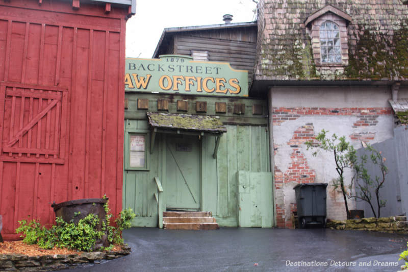 Store fronts at Silver Dollar City