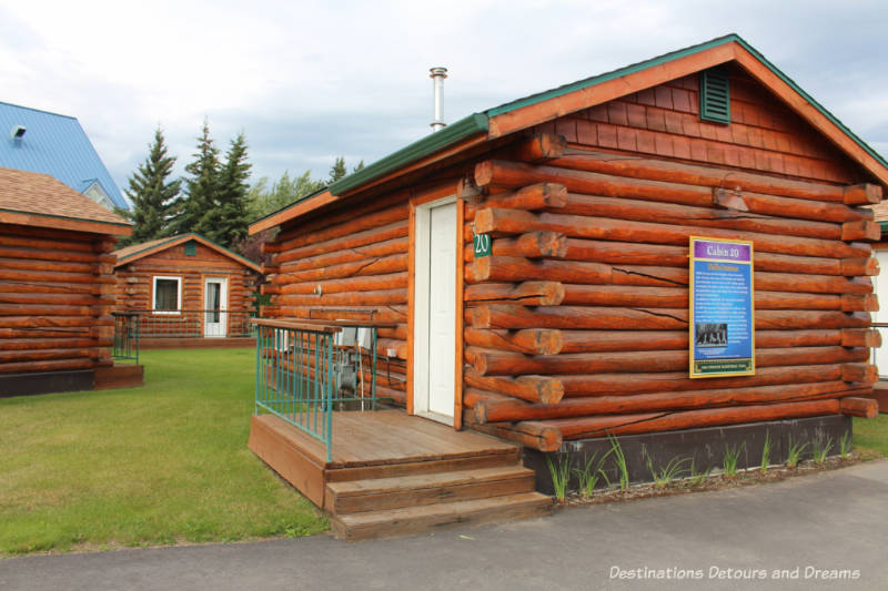 Cabins at Pike's Waterfront Lodge, Fairbanks, Alaska