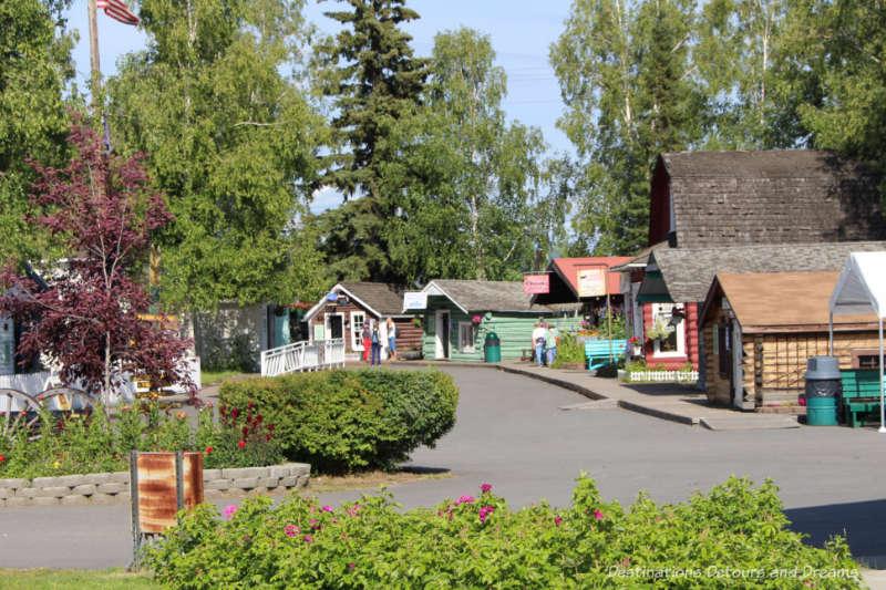 Pioneer Park in Fairbanks, Alaska